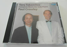 Toru Takemitsu / Complete Works For Solo Piano (CD Album 2009) Used very good