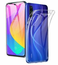 For Xiaomi MI 9 | 8 Lite Soft Thin Clear Gel Phone Case Cover+Screen Protector