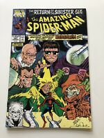 The Amazing Spider-Man #337 (Aug 1990, Marvel) Return Of Sinister 6 Part 4