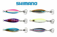 SHIMANO BUTTERFLY FLAT FALL SALTWATER JIG 100 select colors