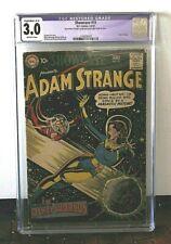 SHOWCASE # 19  3RD APPEARANCE OF ADAM STRANGE   DC 1959  CGC 3.0