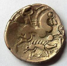 Très belle monnaie - Aulerques Eburovices - 1/2 Statère au sanglier -