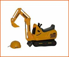 Mini Excavator Kids Ride On Construction Toys Battery Powered Road Toddlers
