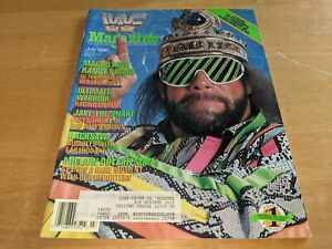 MACHO KING RANDY SAVAGE WWF MAGAZINE Wrestling July 1990 Issue Ted DiBiase RARE