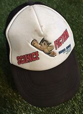 Vintage Astro Boy Hat Original 80s Trucker SnapBack Holographic Rare Science