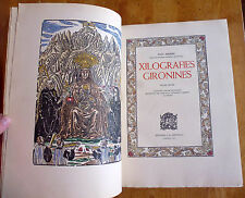 XILOGRAFIES GIRONINES * Joan Amades * 1947 numbered book volum primer 880 xilo..