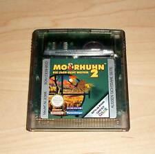 Nintendo GameBoy Color - Moorhuhn 2 ( Morehuhn Game Boy GBC )