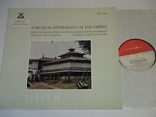 LP/A MUSICAL ANTHOLOGY OF THE ORIENT/Bären Reiter BM 30 L 2010 FOC