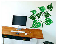 LEAVES FOLIAGE Wall Decal Deco Vinyl Art Sticker Mural