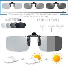 Polarized Photochromic Sunglasses UV400 Driving Fishing Lens Clip On Eyewear US