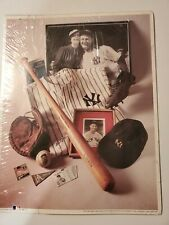 "MLB First Edition Print ""The Iron Horse"" Lou Gehrig (1993) No. 6 in Series Vtg"