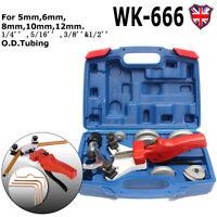 WK-666 Multi Copper Pipe Bender Manual Aluminum Tube Bending Tool Kit 5-12mm