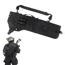 Tactical Shotgun Scabbard Holster Molle Rifle Sling Case Bag for Outdoor Hunting