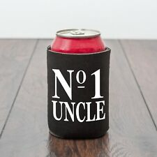 No 1 Uncle beer can cooler/beer lover/birthday/Drinking/Drinks gift/Novelty gift