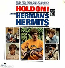 HERMAN'S HERMITS Hold On SOUNDTRACK MGM SEALED RARE MONO 33 RPM LP VINYL RECORD