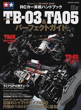 Tamiya RC Perfect Guide TB-3 & TA05 Official Japanese Guide Book