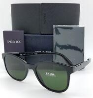 New Prada sunglasses PR08US 1AB1I0 54mm Black Grey Green PR 08 AUTHENTIC classic