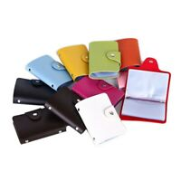 24Bits Credit Card Holder Card Case Business ID Card Holder Portable Wallets Hot