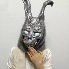 Donnie Darko FRANK Rabbit Mask The Bunny Latex Hood With Fur Halloween Gift
