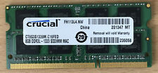 8GB Crucial 1333MHz DDR3 RAM Memory MacBook Pro 2011 & 2011 iMac CT8G3S1339M