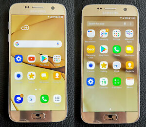 Samsung Galaxy S7 SM-G930F - 32GB - Gold Platinum (Unlocked)