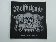 WOLFBRIGADE PREY TO THE WORLD WOVEN PATCH