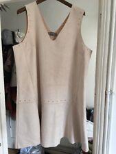 BNWT Next Size 16 Beige Suedette Dress RRP £45