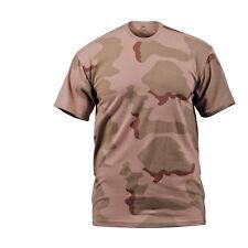Tri Color Desert Camo T-Shirt Marine Corps USMC Army Coffee Stain Gulf War S-3X
