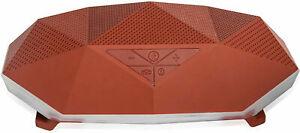 Big Turtle Shell Wireless Speaker, Rugged, Waterproof, Bluetooth, Portable, Orng