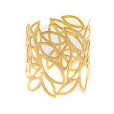 Betty Carr Goldtone Cutout Leaf Cuff Bracelet Average HSN $70