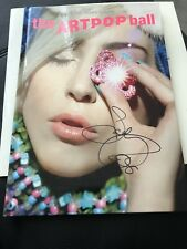 Lady Gaga Artpop Ball Rave Tour Programme Signed