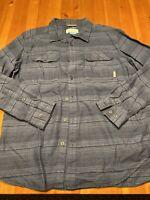 Columbia Sportswear Omni Wick Mens Size Large Full Button L/S Shirt
