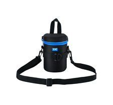 JJC DLP-2II Waterproof Deluxe Lens Pouch with Strap Inner Dimension 80 x 152mm