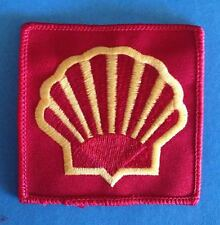 Vintage 1980's Shell Oil F-1 Racing Sponsor Hat Jacket Racing Gear Patch 014T