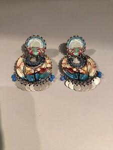Ayala Bar Drop Earrings New