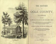 1878 OGLE County Illinois IL, History & Genealogy, Ancestry Family Tree DVD B33