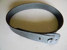 Cobra Gun Skin Black Gun Belt- Leather
