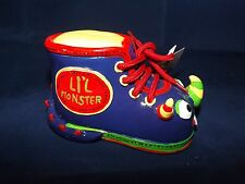 Giftcraft Bootiful Booties Ceramic Sneaker Bank - New - Li'l Monster