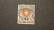 SWITZERLAND  SCOTT #  203a  USED  F-VF  # 50728-9