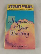 Stuart Wilde Audio Cassette Happiness is Your Destiny 1996