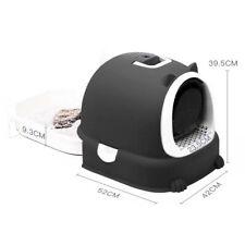 Boîte à litière à capuchon autonettoyante ultra automatique avec bacs