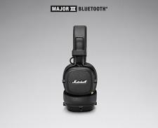 Marshall Major III Bluetooth Black 3.5mm wireless Bluetooth Mic HIFI headphones