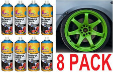 8 PACK - New GREEN  Plasti Dip 13.5 oz Spray Can Rubber coating Removable Paint