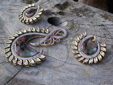 Exclusive Indian Radhe Krishna Kundan Costume Jewellery Set Handmade