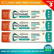 Sensodyne Pronamel Multi-Action Toothpaste 100ml ( 3 in a pack) Free UK Postage