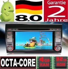 "RAM 4GB 8"" ANDROID 8.0 FIAT BRAVO 2007-2014 GPS OCTA CORE 4G AUTORADIO DVD WIFI"