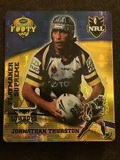 NRL Smith's Gold Footy Tazo 2007 11/64 Johnathan Thurston Cowboys Card