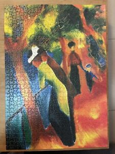 Ravensburger Art Collection Puzzle August Macke 1000 Piece 2003 Used