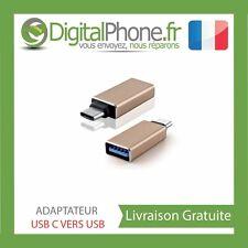"Adaptateur USB 3.1 type C mâle vers USB 3.0 femelle OR MACBOOK 12"""