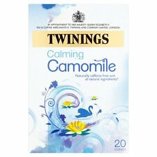 Twinings Camomile Tea Bags 4 Boxes Of  20 (80)      Free Post